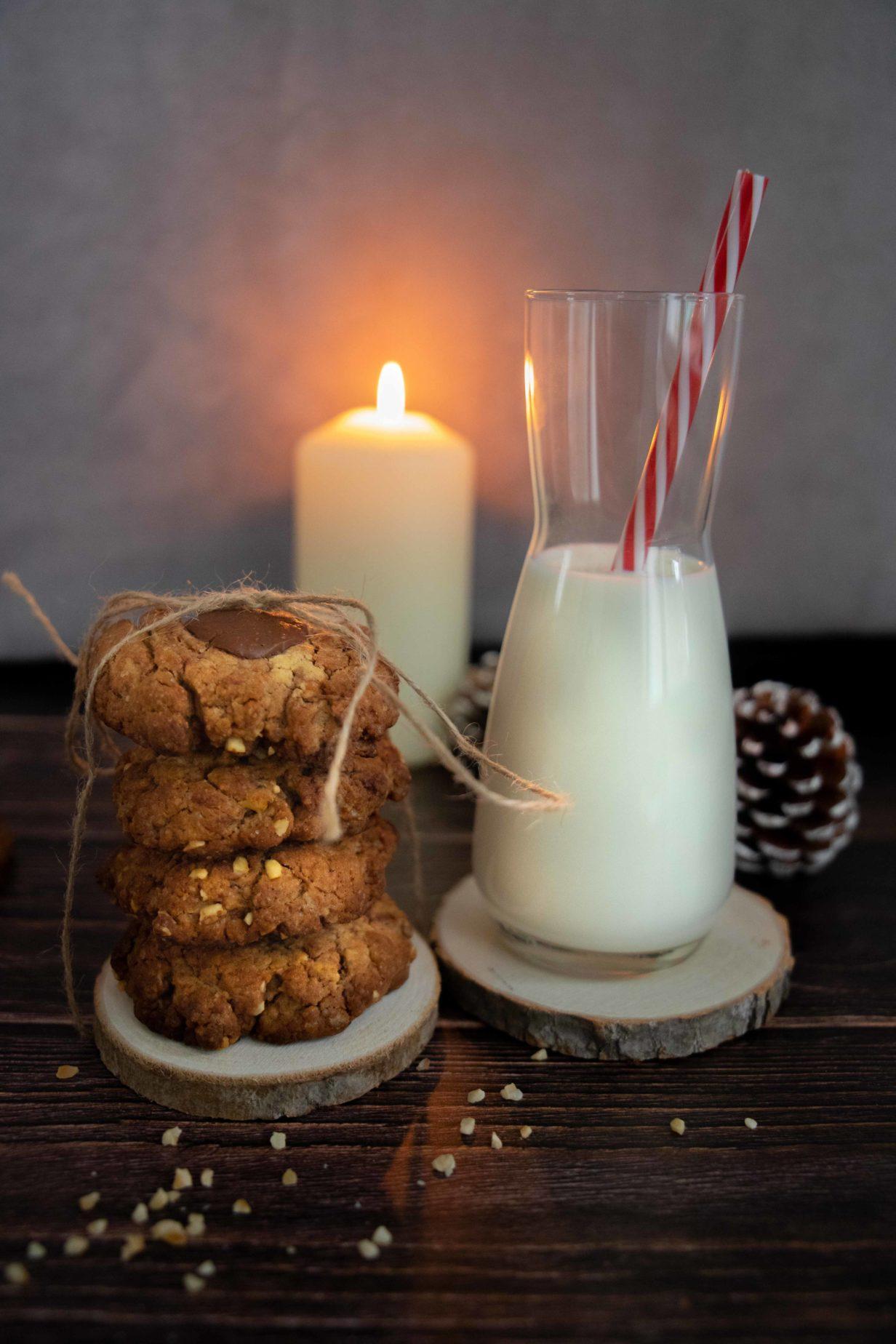 cookies croquants et moelleux